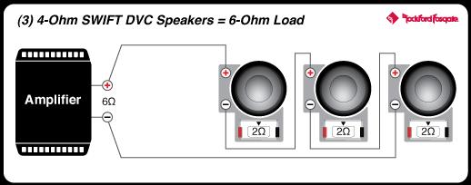 4 ohm dvc wiring diagram power 12  t0 4 ohm dvc subwoofer rockford fosgate     power 12  t0 4 ohm dvc subwoofer