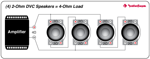 on 4 2 ohm speaker wiring diagram