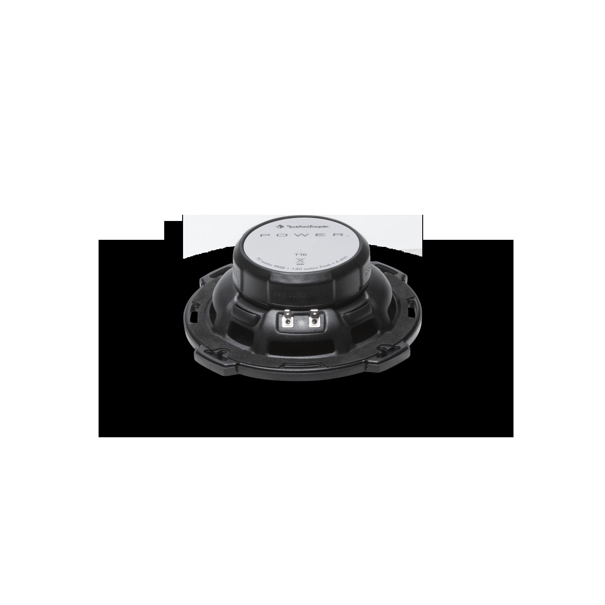 Rockford Fosgate T16 Power 6 2-Way Full-Range Speaker Pair