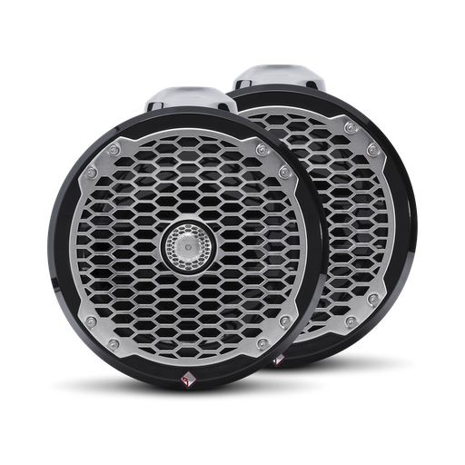 "Punch Marine 8"" Wakeboard Tower Speakers - Black"